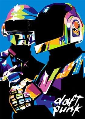 Daft Punk Popart