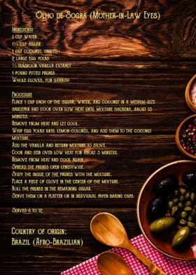 Brazil recipe 1