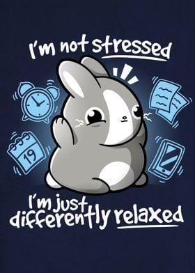 Stressed bunny