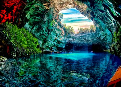 Amazing Greek  Cave
