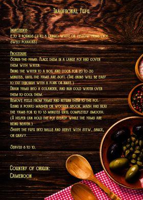 Cameroon recipe 1