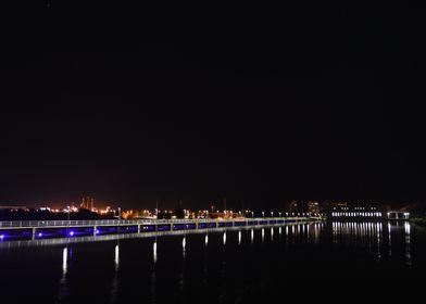 Oulu at Night
