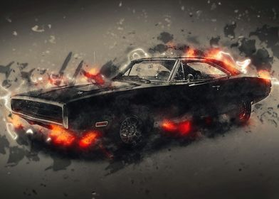 Classic muscle cars 2