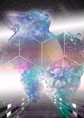 walking into stars