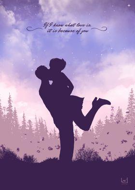 Romantic couple 4
