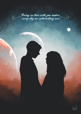 Romantic couple 3