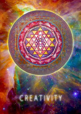 Shri Yantra Creativity