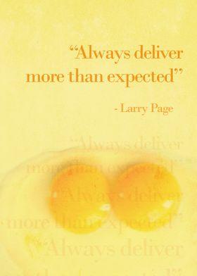 Always Deliver