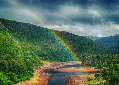 Rainbow at Elan Valley