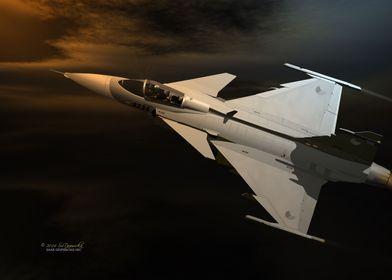SAAB Gripen JAS 39C