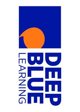 Deep Blue Learning Logo