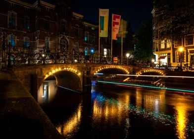 Small bridge in Amsterdam