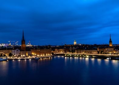 Stockholm city view