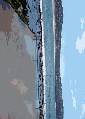 MacMasters Beach Plate