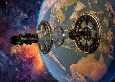 Planetary satelite