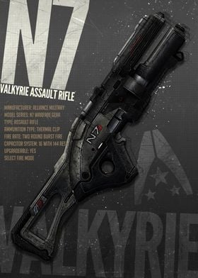 Mass Effect N7 Valkyrie