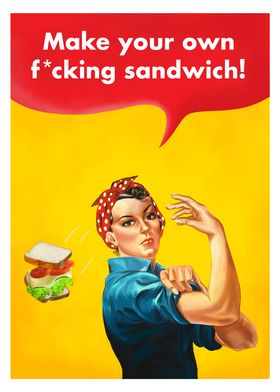 Make your own sandwich