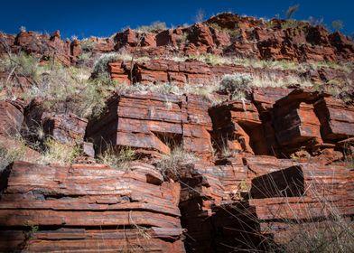 Pilbara Iron rock