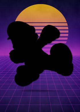 Retro Super Mario