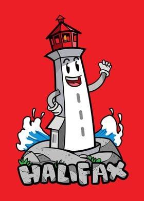 Halifax City Icon Badge