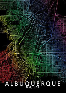 Albuquerque Rainbow Map