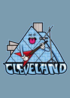 Cleveland City Icon Badge