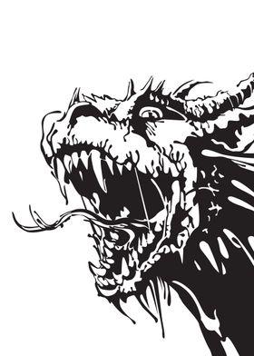Dragon Gangster Ink blots
