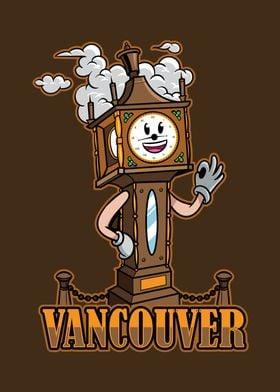 Vancouver City Icon Badge