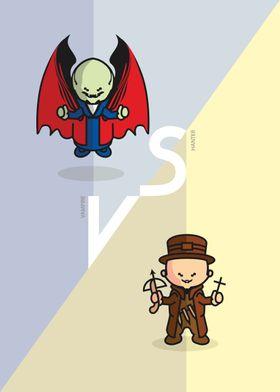 Dracula vs Van Helsing