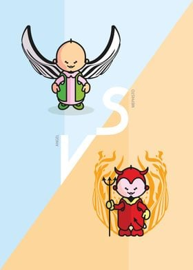 Angel vs Mephisto