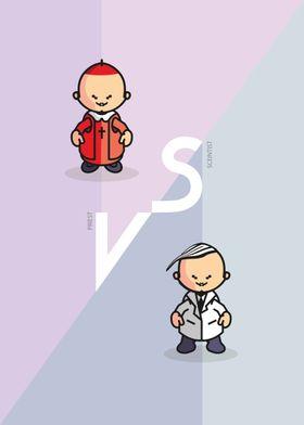 Priest vs Scientist
