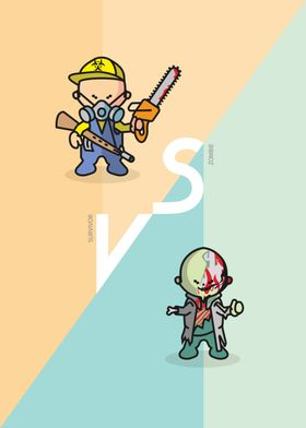Zombie vs Survivor