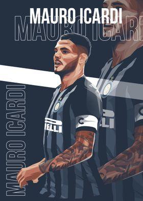 Mauro Icardi Vector Art