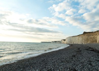 sea side cliff