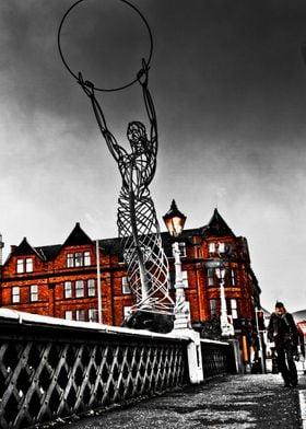Belfast HOPE  Sculpture