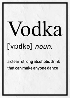 How to Spell Vodka