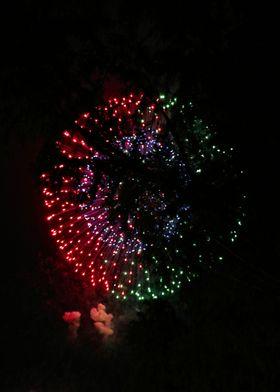 Fire Flower Fireworks