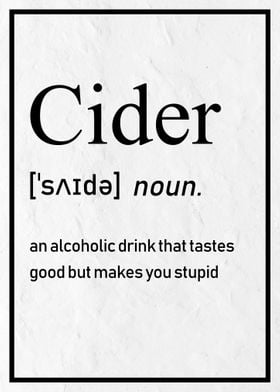 How to Spell Cider