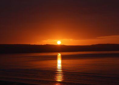 England sunrise