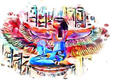 Isis Maat Egyptian goddess