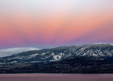 West Kelowna sunrise