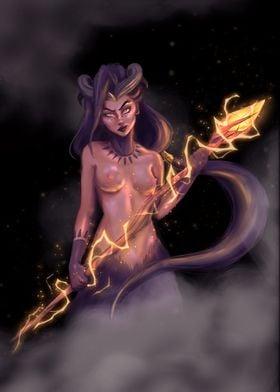 The druidic satyr