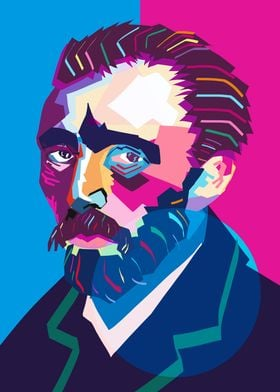 Wpap Van Gogh Colorful