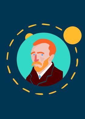 Vang Gogh Sun