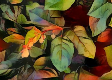 Abstract Leaves and Branch