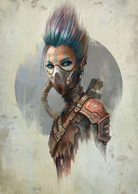 Wasteland Portrait IV