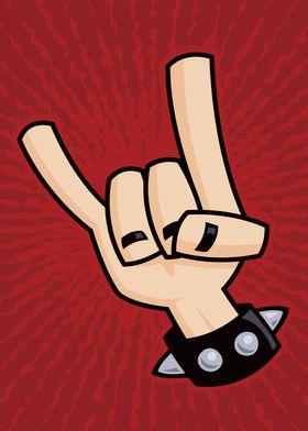Heavy Metal Devil Horns