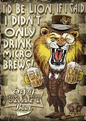 Craft Beer Lion