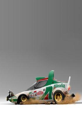 Lancia Stratos Caricature