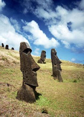 Moai of Easter Island 5